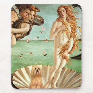 Lhasa Apso 9 - Birth of Venus Mouse Pad