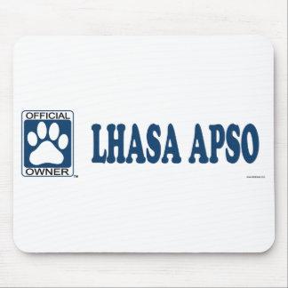 Lhasa Apso Blue Mouse Pad