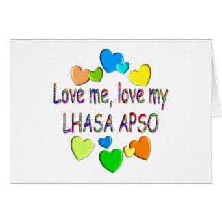 LHASA APSO CARD