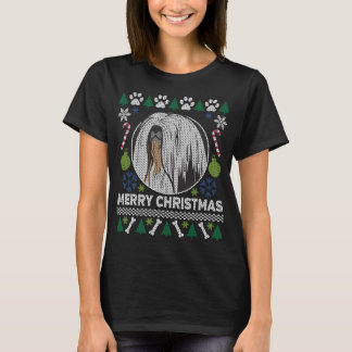 Lhasa Apso Dog Breed Ugly Christmas Sweater