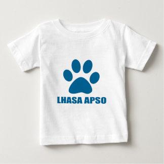 LHASA APSO DOG DESIGNS BABY T-Shirt