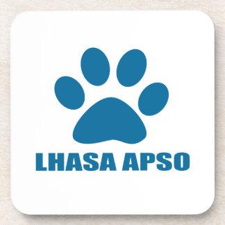 LHASA APSO DOG DESIGNS COASTER