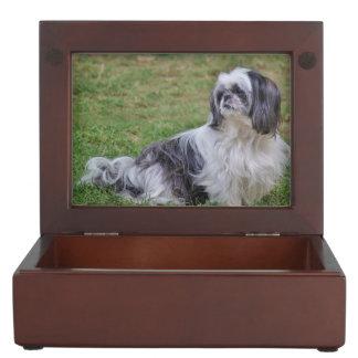 Lhasa Apso Dog Keepsake Box