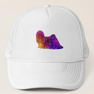 Lhasa Apso in watercolor 2 Trucker Hat