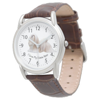 Lhasa Apso Lover Wristwatch