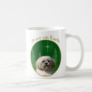 Lhasa Apso Peace Coffee Mug