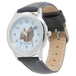 Lhasa Apso Portrait Wristwatches