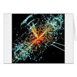 LHC Collision Greeting Card