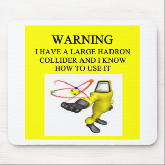 LHC large hadron collider Mouse Pad
