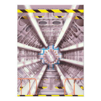 LHC particle collider Photo Print