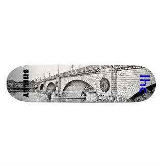 lhc, shibby skate board