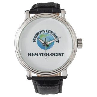 L'hématologue le plus drôle du monde montres bracelet