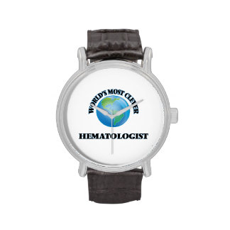 L'hématologue le plus intelligent du monde montres