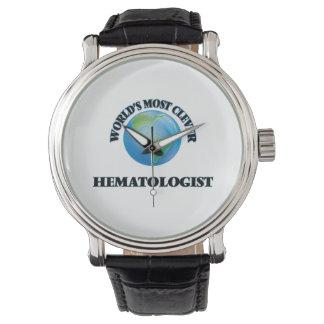 L'hématologue le plus intelligent du monde montres cadran