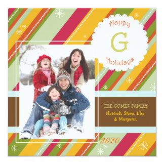 L'hiver chaud barre des cartes photos de carton d'invitation  13,33 cm