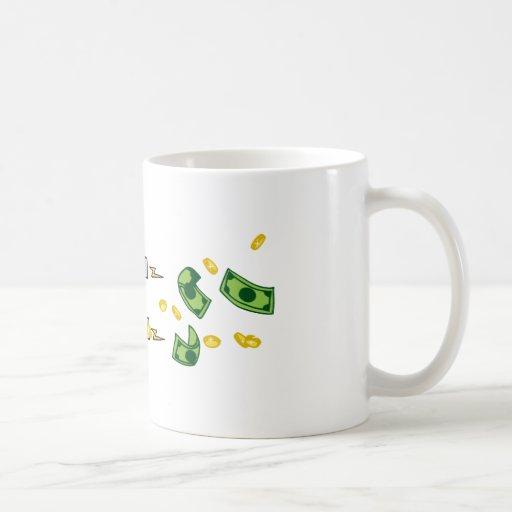 L'homme d'affaires utilisant un aimant attire l'ar mug
