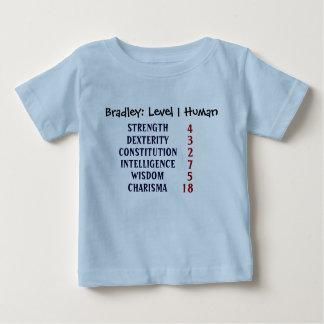 L'humain du niveau 1 personnalisent tshirts
