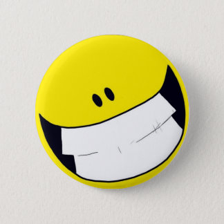 Li.F.E. Smiley 2 Inch Round Button