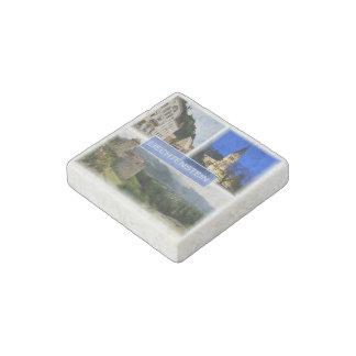 LI Liechtenstein - Vaduz - Parliament - Stone Magnets