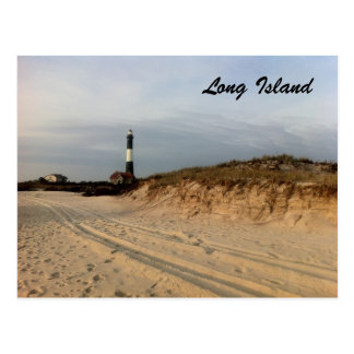 LI Lighthouse Postcard