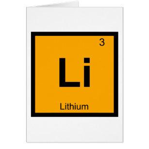 Lithium periodic table gifts on zazzle ca li lithium chemistry periodic table symbol urtaz Images