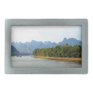 Li River, China Belt Buckle