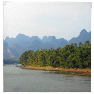 Li River, China Napkin