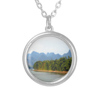 Li River, China Silver Plated Necklace