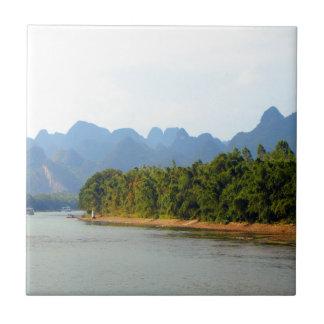 Li River, China Tile