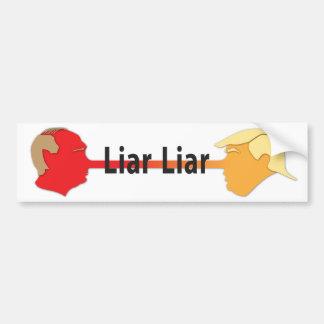 Liar Liar Bumper Sticker