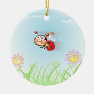 Libby the Ladybug Ornament