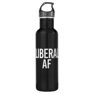 Liberal AF - - white - 710 Ml Water Bottle