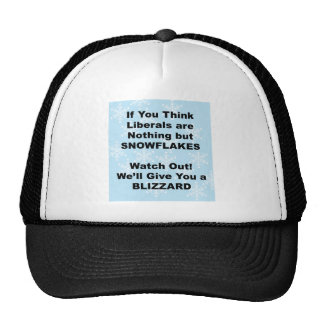 Liberal Blizzard Trucker Hat