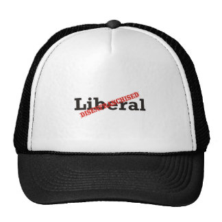Liberal / Disenfranchised Mesh Hats