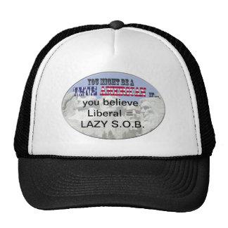 liberal lazy sob trucker hat