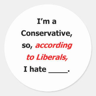Liberal Lies Stickers