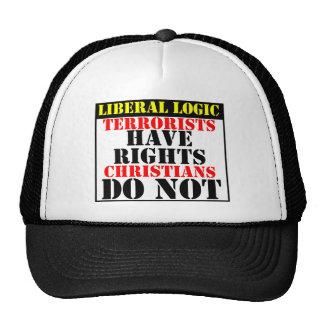 liberal logic mesh hats