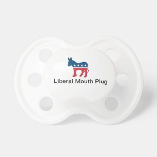Liberal Mouth Plug Pacifier