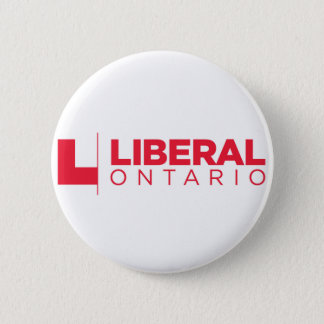 Liberal Ontario Party Logo 2 Inch Round Button