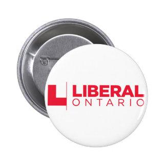 Liberal Ontario Party Logo 2 Inch Round Button
