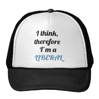 Liberal t-shirts mesh hat