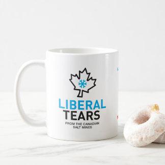 Liberal Tears Salt Mines Canada Funny Federalist Coffee Mug