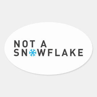 Liberal Tears Salt Mines Oval Sticker