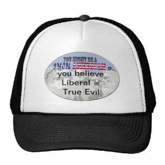 liberal=true evil trucker hat