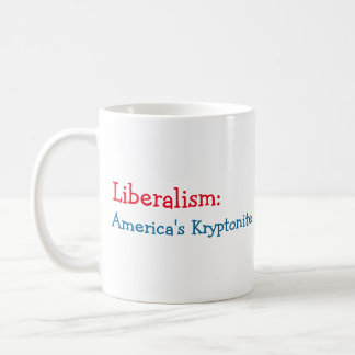 Liberalism: America's Kryptonite Coffee Mug