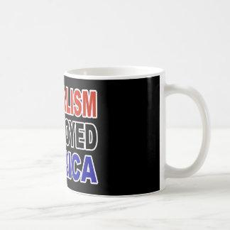 LIBERALISM DESTROYED AMERICA COFFEE MUG