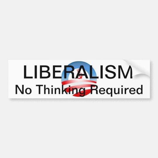 Liberalism II Bumper Sticker