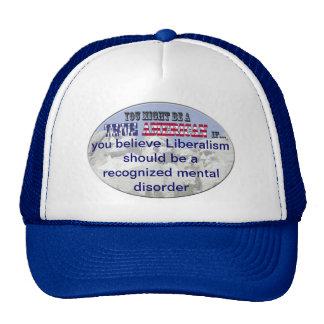 liberalism mental disorder trucker hat