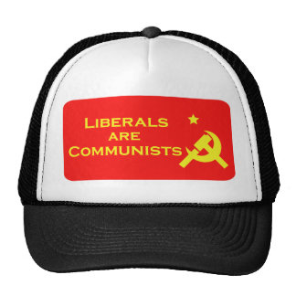 Liberals are Commies Trucker Hat