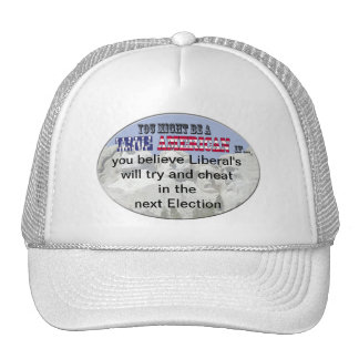 liberals cheat election trucker hat